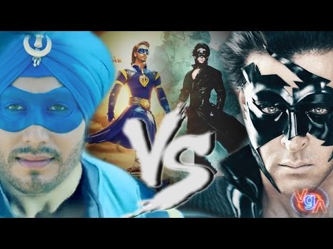 Krrish 4 Vs Flying Jatt  fight Trailer...