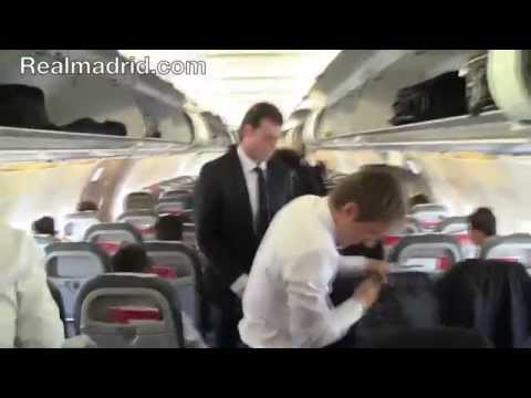 REAL MADRID BEHIND THE SCENES: Real Madrid's arrival in Cardiff