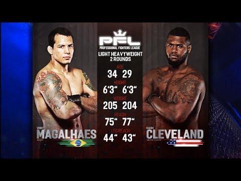 Vinny Magalhaes vs Rakim Cleveland Full Fight | 2018 PFL Playoffs
