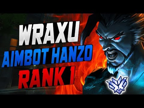 WRAXU BEST HANZO IN THE WORLD! 47 ELIMS! [ OVERWATCH SEASON 7 TOP 500 ]
