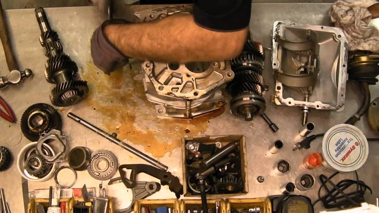 T5 5 Speed Transmission Disassembly In Less Than 2 Minutes