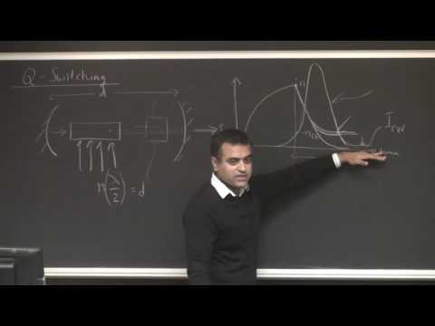 Lasers & Optoelectronics Lecture 23: Mode Locked Lasers (Cornell ECE4300 Fall 2016)