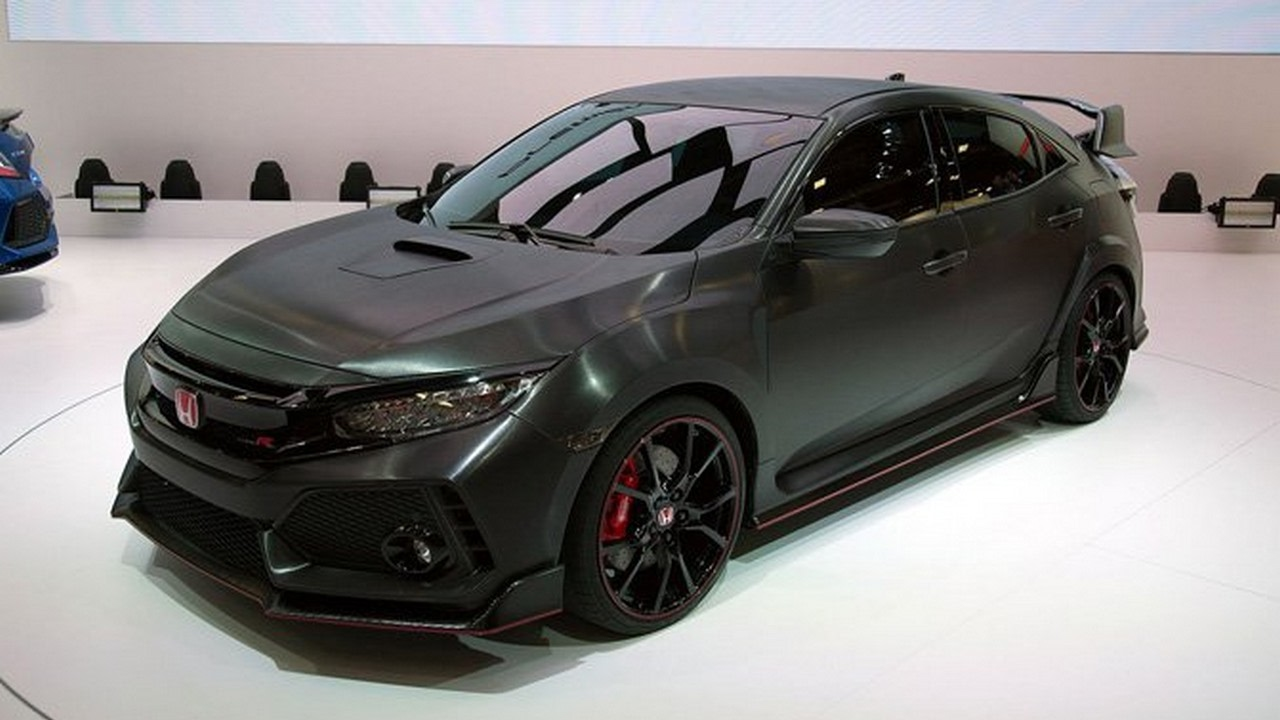 Honda Civic 2017 R Type Turbo Engine Usa Automatic Acceleration Full Review Autohighlights