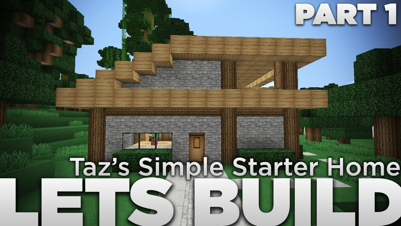 Taz 39 s simple starter home the let 39 s build exchange for Small starter homes