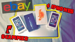 KID GETS SCAMMED ON EBAY BUT GOT MORE IPHONES THAN HE WANTED KARMA Unboxing // #UTUBSKIT