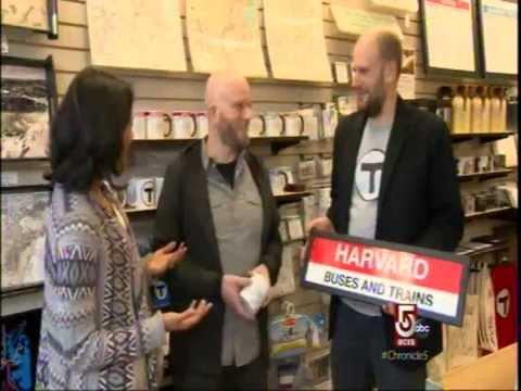 MBTAgifts on Chronicle TV  WVCB Boston