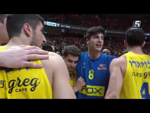 Recap: Maccabi FOX Tel Aviv - Hapoel Eilat 85:83