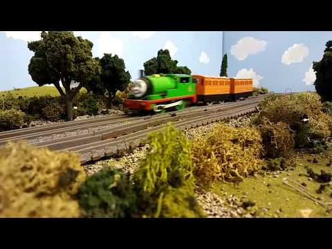Thomas and The Fish Train Remastered Clip - PROJECTED CANCELLED Percy, Daisy, and the coaches