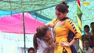 गिनौरा में कैसे लोग नज़रे गड़ाकर देखते रहे दोनों को Rc प्रियंका ने ग़दर मचा दिया | Haryanvi | Trimurti