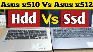 Asus Vivobook 15 x512 Vs Asus Vivobook 15 x510 ||| Windows 10 Loading Time Compare