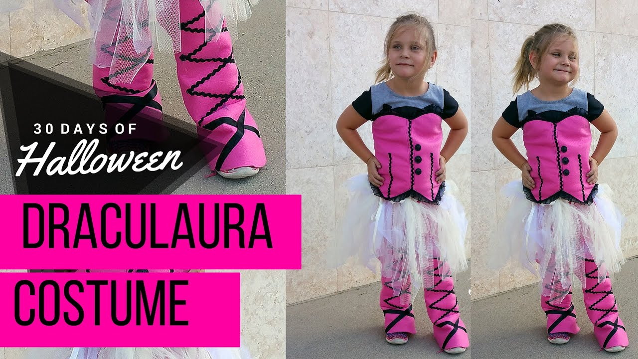 sc 1 st  YouTube : draculaura costume pattern  - Germanpascual.Com