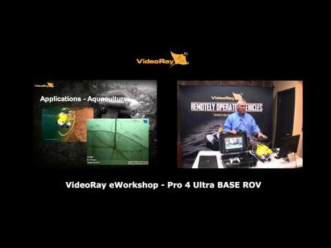 VideoRay Pro 4 Ultra BASE ROV System - eWorkshop