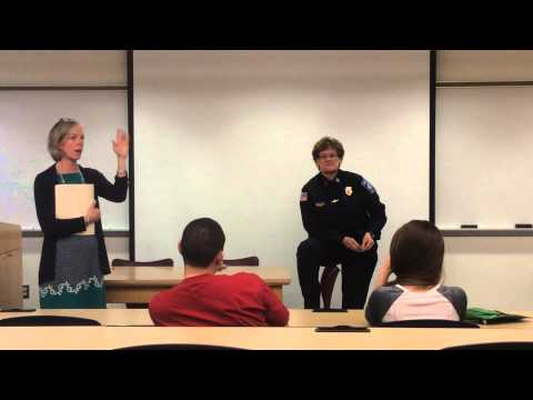4/9/2014 Open Forum On New Gun Policy With Anne McDonald and Karen Kolimaga