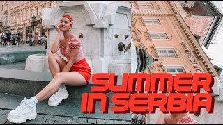 Summer in SERBIA | Travel Vlog ☀️🍓