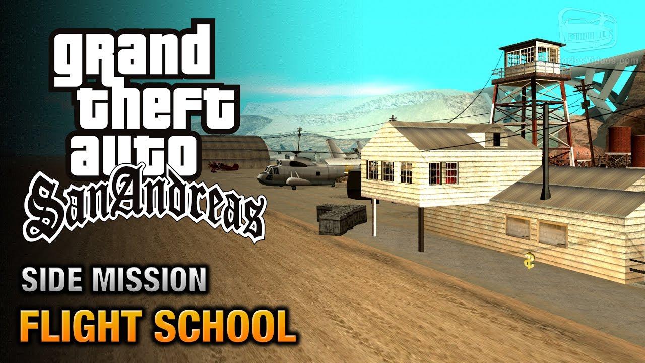 Gta San Andreas Pilot School