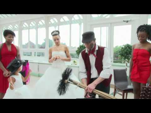 Charlie Brush- wedding chimney sweep