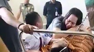 Viral Perlakuan Bocah SD pada Jasad Ayahnya yang Meninggal, Ucapannya Bikin Banjir Air Mata