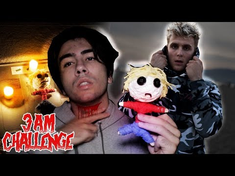 DO NOT USE A JAKE PAUL VOODOO DOLL AT 3:00 AM ||  3 AM WITH JAKE PAUL CHALLENGE VOODOO DOLL