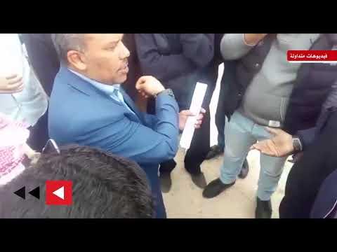 بعد التراجع عن تعينهم .. سائقون يحتجون أمام الأمانة  - 10:53-2019 / 4 / 15