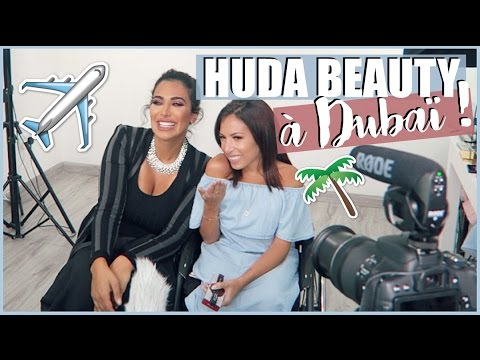 ♡ HUDA BEAUTY à DUBAÏ !