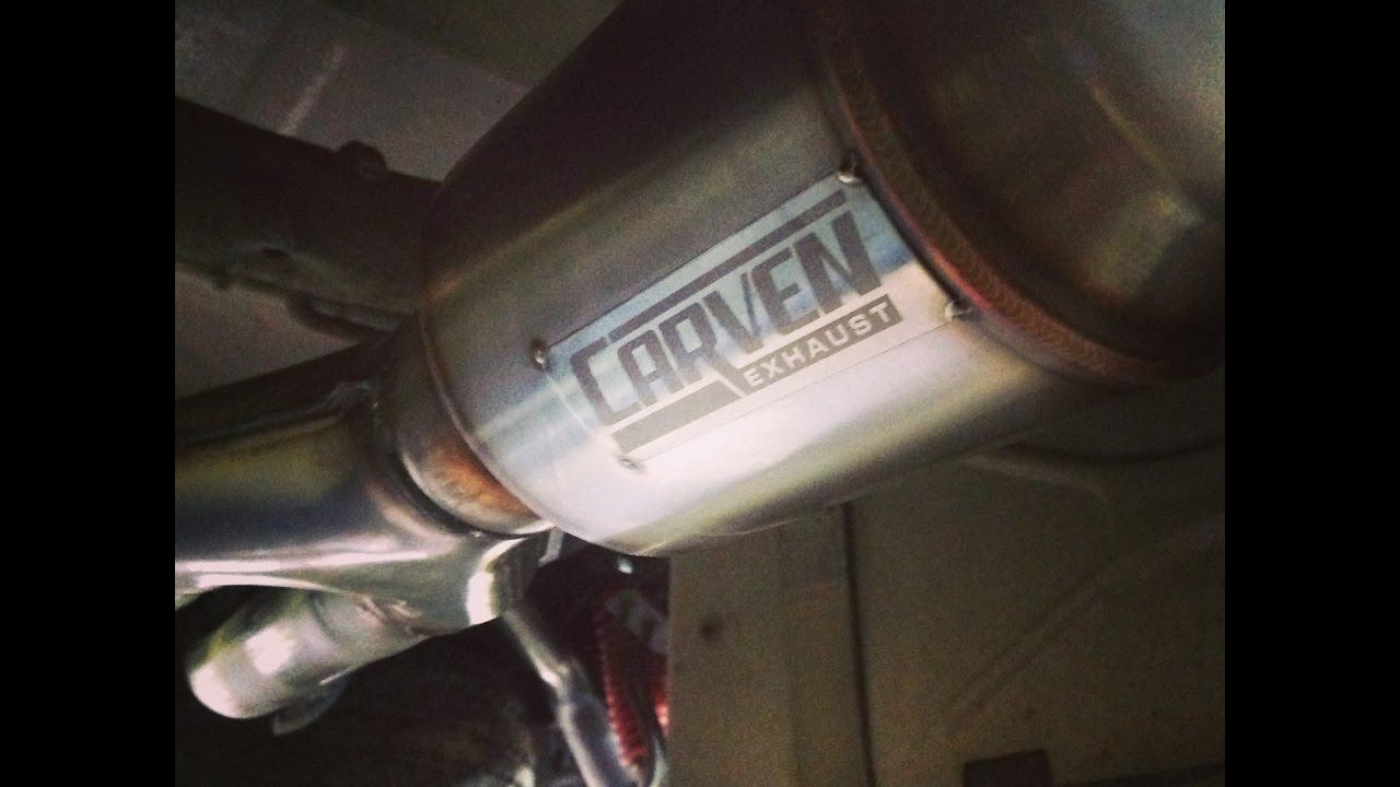 2014 gmc sierra exhaust carven r series