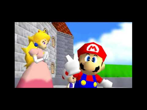 Super Mario 64 Speedrun 0 Stars (Speed x1 Up To x1024)