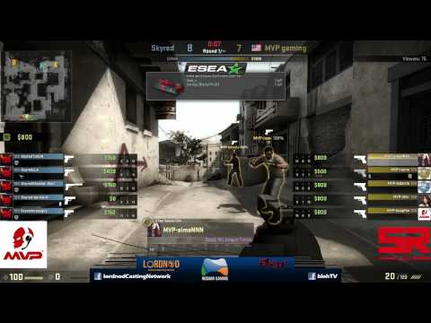 ESEA Open Asia Pacific: MVP Gaming vs Skyred