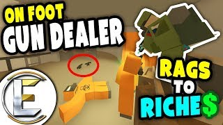 Video Mobile Gun Dealer | Unturned Rags to Riches - Gun shop on the move (Roleplay) #5 download MP3, 3GP, MP4, WEBM, AVI, FLV Januari 2018
