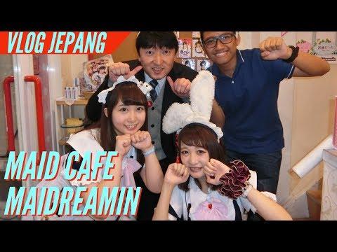 Bagaimana MAID CAFE MAIDREAMIN di SHINJUKU JEPANG ? - Indonesia Vlog