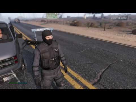 HOW TO BE A COP IN GTA 5 NO MODS