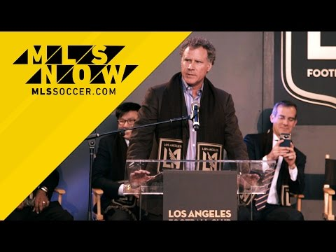 LAFC Unveil crest, colors and new owner WILL FERRELL