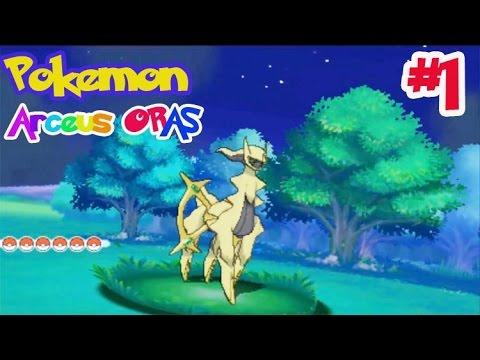 """Pokemon ORAS """"อาร์เซอุส""""(Arceus) #1 โปเกม่อนที่เก่งที่สุดในเกม จากมูฟวี่ 18 มหาปิศาจแห่งวงแหวน ฮูป้า"""