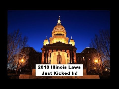 Know the New Illinois Laws for 2018
