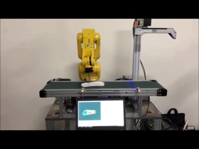 3D Modeling & Glue Path of Shoe Soles with FANUC Robot and QuellTech Laser Scanner - by Quadrep