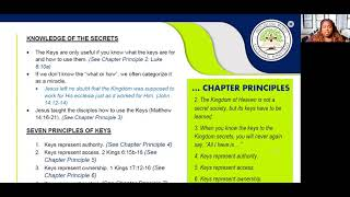 2021_0114 PWAM Bible Study: Kingdom Principles - Chapter 9 - KINGDOM KEYS - Part 2