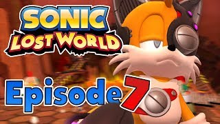 Sonic Lost World (Wii U) - Gameplay Walkthrough Final Part 7 - Lava Mountain & Ending [1080p HD]