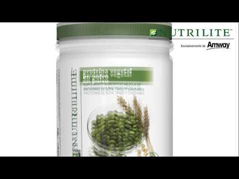 Proteína vegetal Nutrilite.