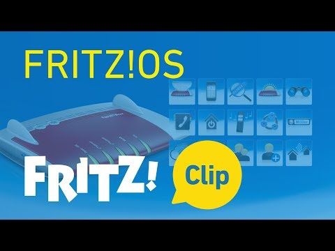 AVM FRITZ! Clip: FRITZ!OS -- the operating system of the FRITZ!Box