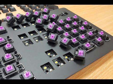 Thế nào là bàn phím cơ, switch, plate? Phím cơ tutorial #1 😱😱😱