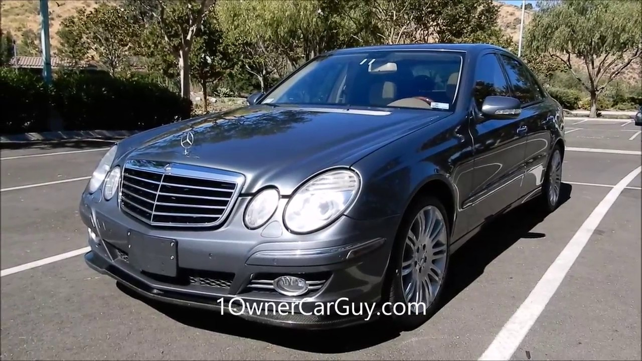 2007 mercedes benz e550 w211 p2 sport loaded for sale youtube. Black Bedroom Furniture Sets. Home Design Ideas