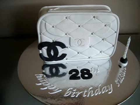 Chanel Hand Bag Cake Youtube
