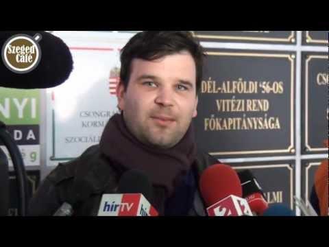 Egyetemisták foglalták el a Kormányhivatal földszintjét Szegeden