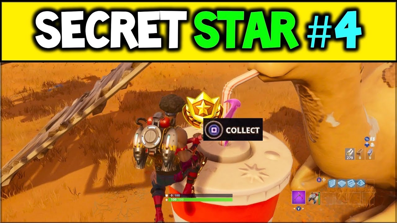 How to Find the Secret Fortnite Battle Pass Star for Week ...
