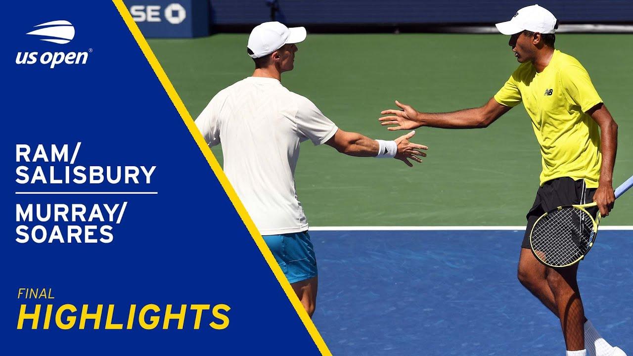Men's Doubles Final   Ram/Salisbury vs Murray/Soares Highlights   2021 US Open