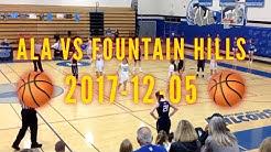 Tia Heggie Basketball: ALA vs Fountain Hills 2017-12-05