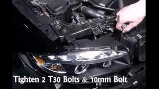Spec-D -  2008 BMW 1-Series Headlights Installation Video