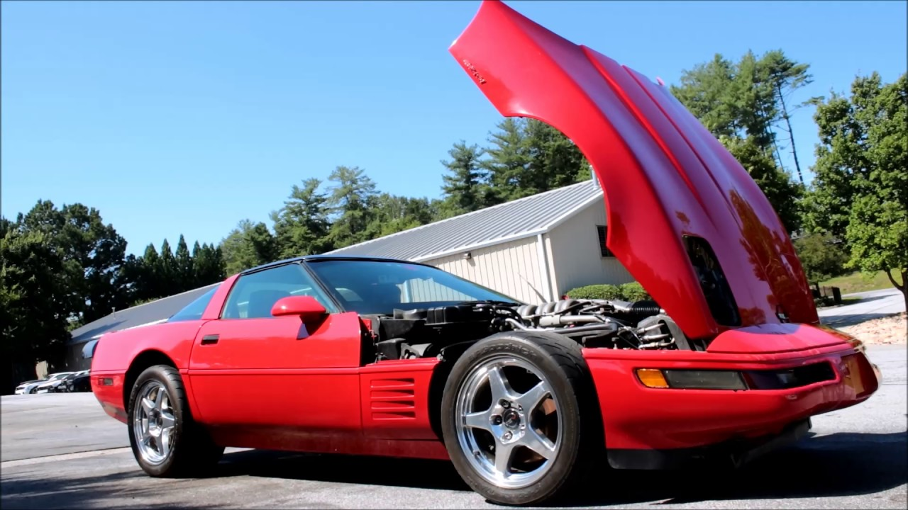 1991 corvette c4 zr1 for sale only 89k miles youtube. Black Bedroom Furniture Sets. Home Design Ideas