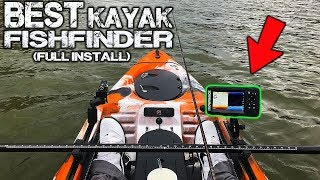 Best kayak fish finder! Lowrance Hook2 5 with GPS, FULL INSTALL