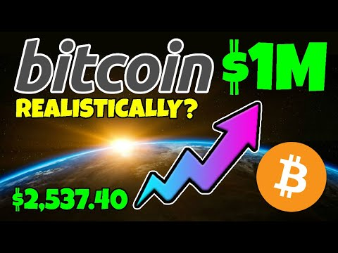BITCOIN (BTC) - Could $2,537 Make YOU A MILLIONAIRE... Realistically???