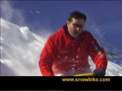 Snowbike How To Ride Brenter The Original Youtube
